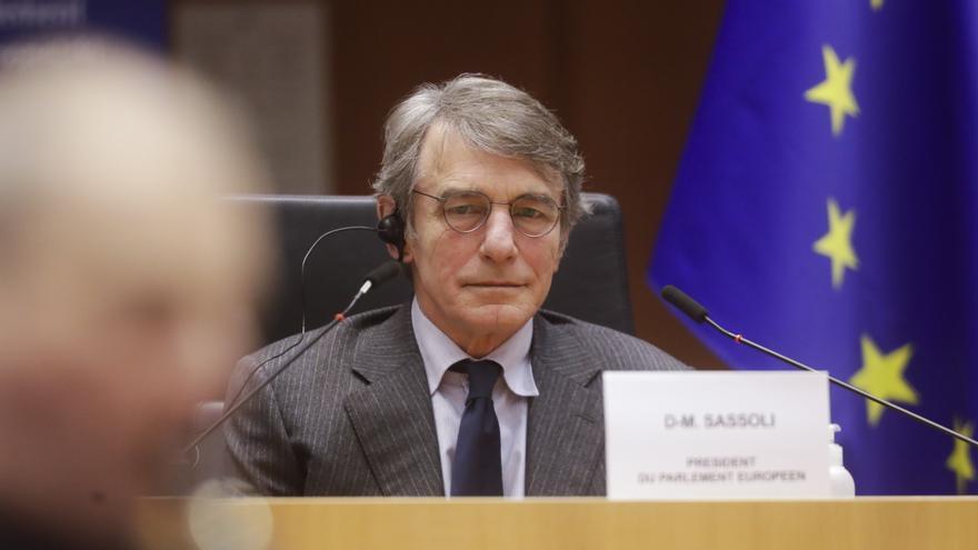 """Presidente Eurocámara: """"Los Estados deben acelerar sus planes de vacunación"""""""