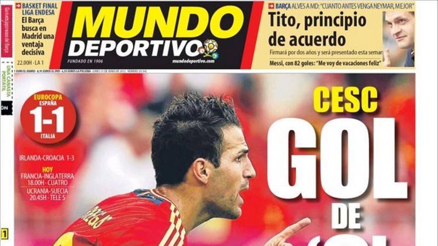 De las portadas del día (11/06/2012) #14