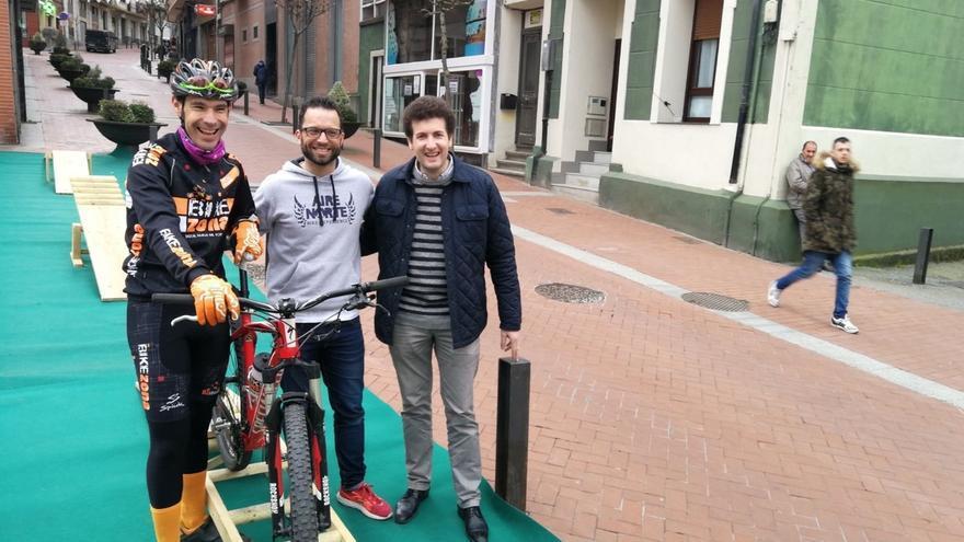 Barakaldo acogerá en mayo una prueba popular que fusionará varias disciplinas del ciclismo en la calle Portu