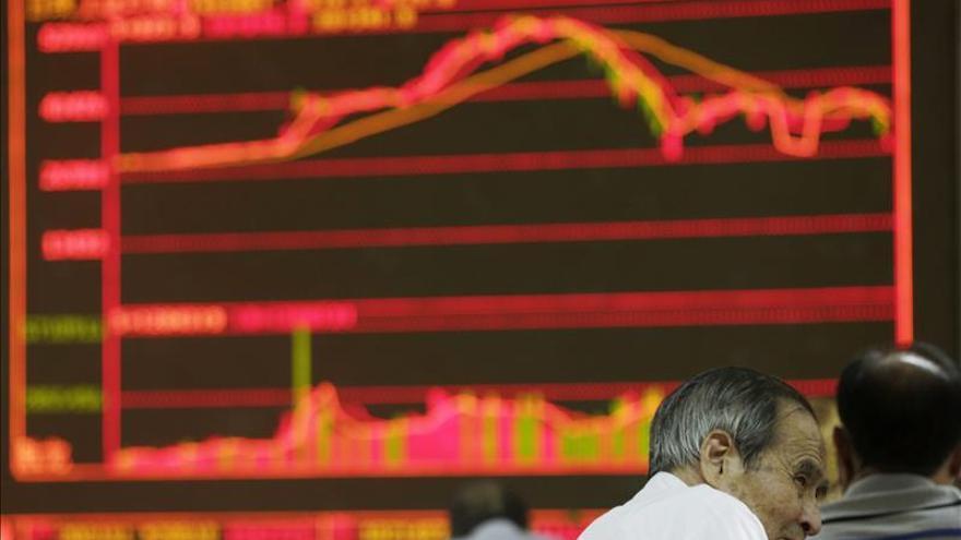 La Bolsa de Shanghái abre a la baja un 0,07 por ciento