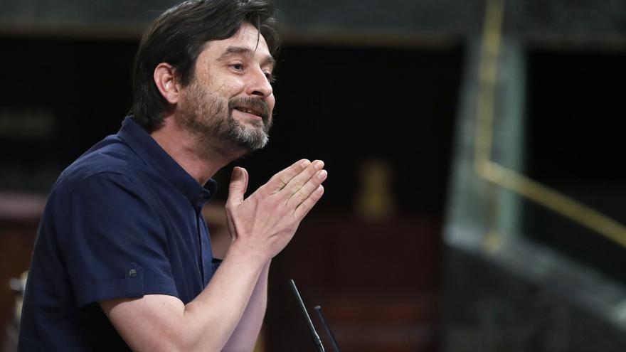 Rafael Mayoral, diputado de Unidos Podemos, en una imagen de archivo.