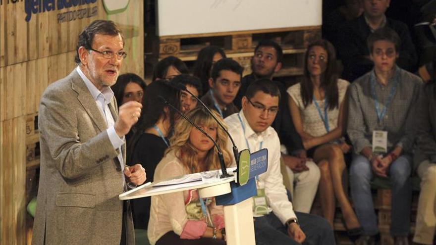 """Rajoy afirma que no va a aceptar """"que nadie juegue con la soberanía nacional"""""""