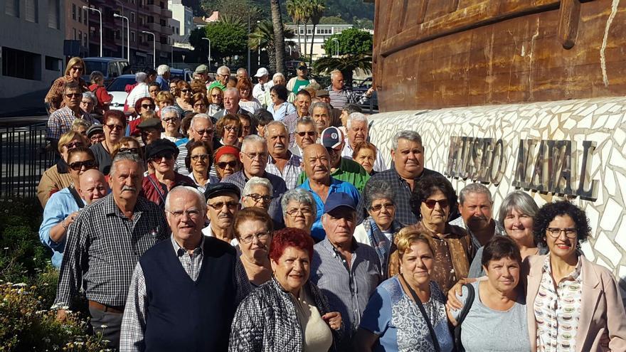Visita al Museo Naval con la consejera Jovita Monterrey.