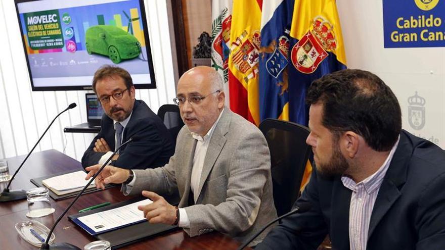 Raúl García Brink, Antonio Morales y Heriberto Dávila.  (EFE/Elvira Urquijo A.)
