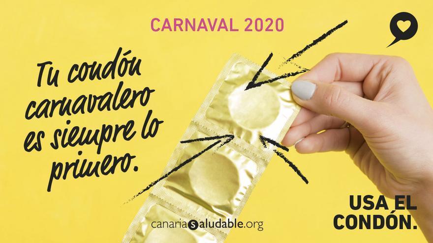 Campaña de la Consejería de Sanidad para estos Carnavales