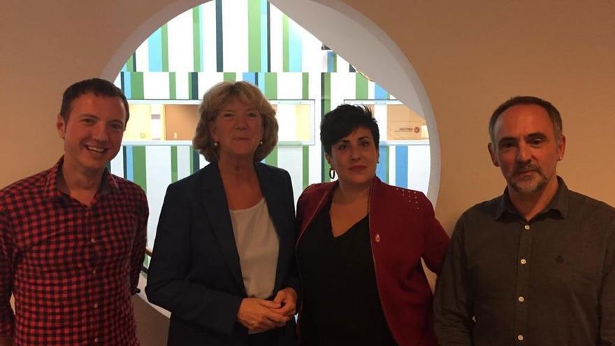 Navarra comparte experiencias coeducativas con la reconocida organización VHTO holandesa