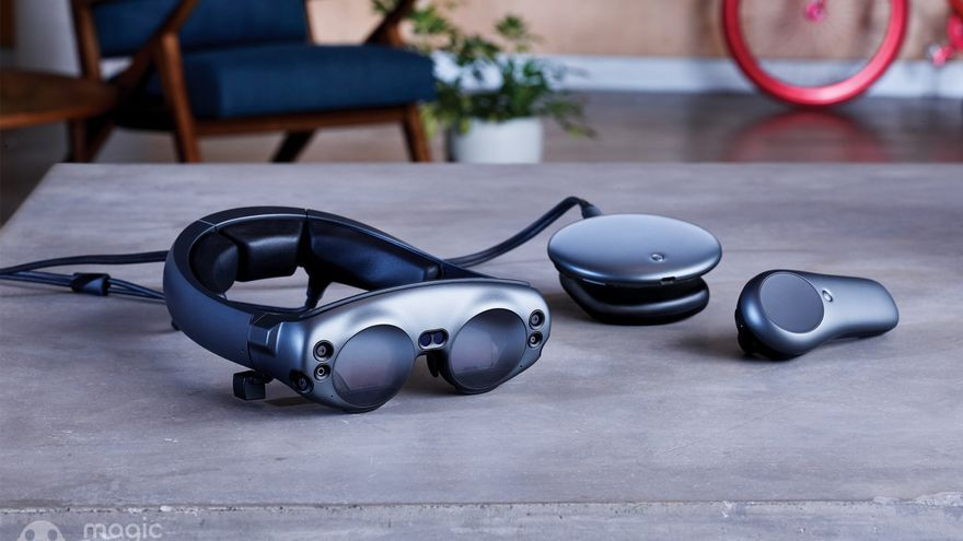 El dispositivo Magic Leap