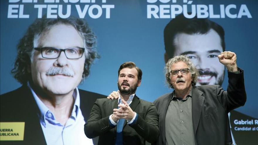 Rufián afirma que ERC sale a ganar para plantar cara a la derecha española