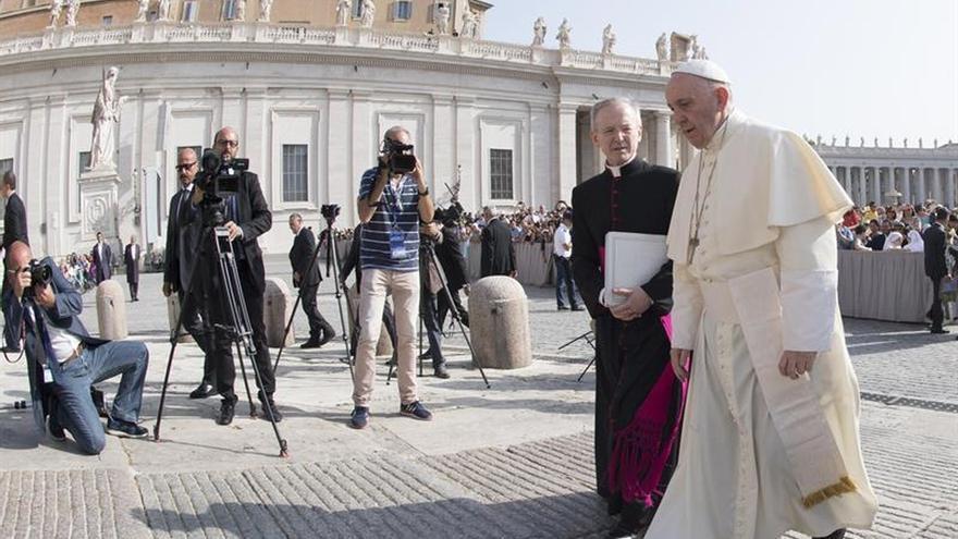 """El papa fue el """"garante"""" para continuar las negociaciones de paz en Colombia"""