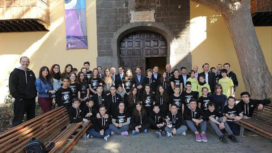 Lego League en Canarias.