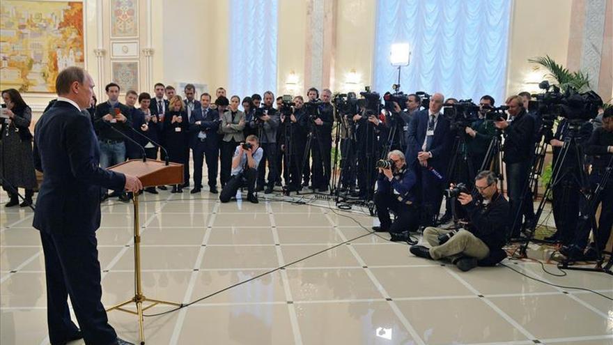 Putin condena el asesinato de cristianos egipcios en Libia