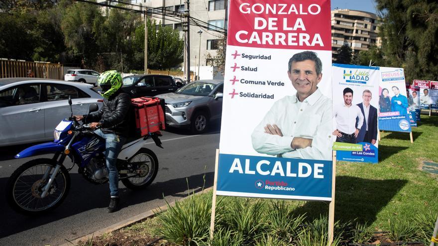 Chile inicia la campaña electoral para los megacomicios, con la pandemia estabilizada