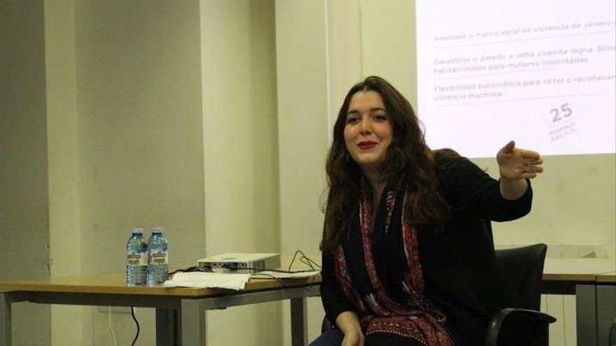 Podemos cargó este mismo martes los retrasos de las donaciones de la diputada Ángela Rodríguez (En Marea)