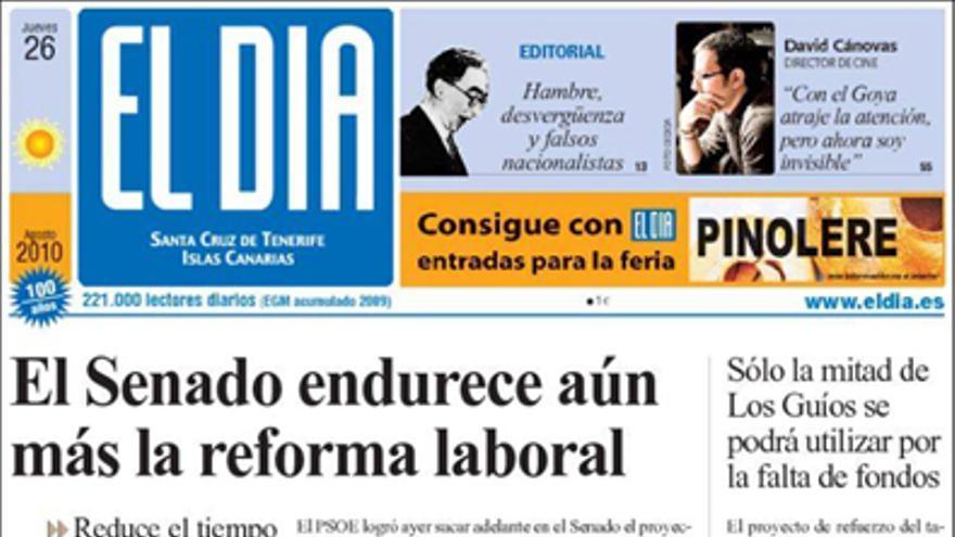 De las portadas del día (26/08/2010) #4