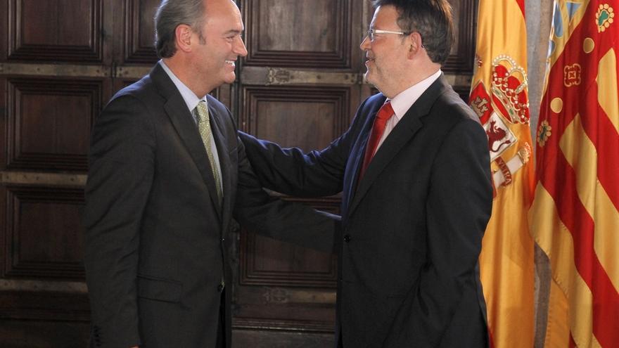 Fabra y Puig se reúnen este lunes para abordar el traspaso de poderes en la Generalitat Valenciana