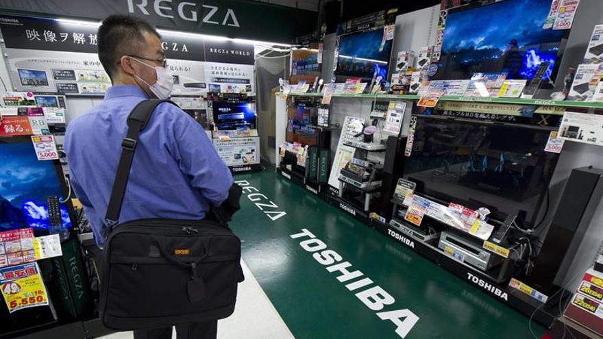 Toshiba cotiza por última vez en la primera sección de la Bolsa de Tokio