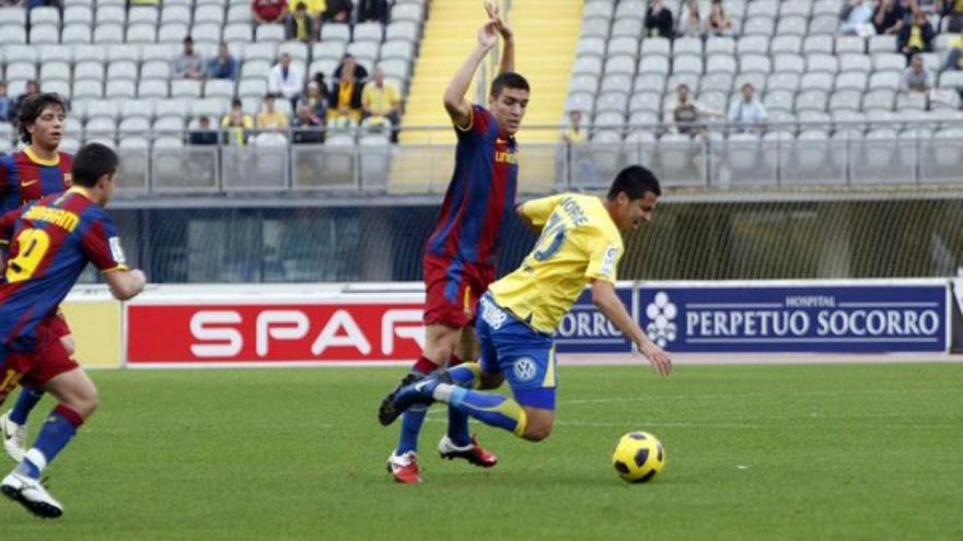 Del UD Las Palmas-Barcelona B #15