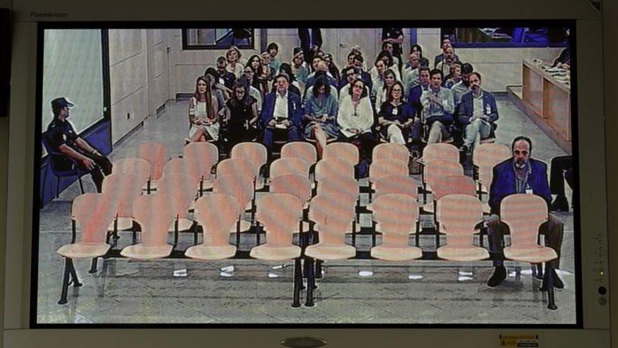 Solo uno de los 37 acusados en Gürtel, en la sesión en la que declara Rajoy