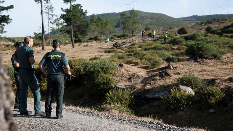 La Policía rastrea sin éxito un solar en busca de pistas de Diana Quer