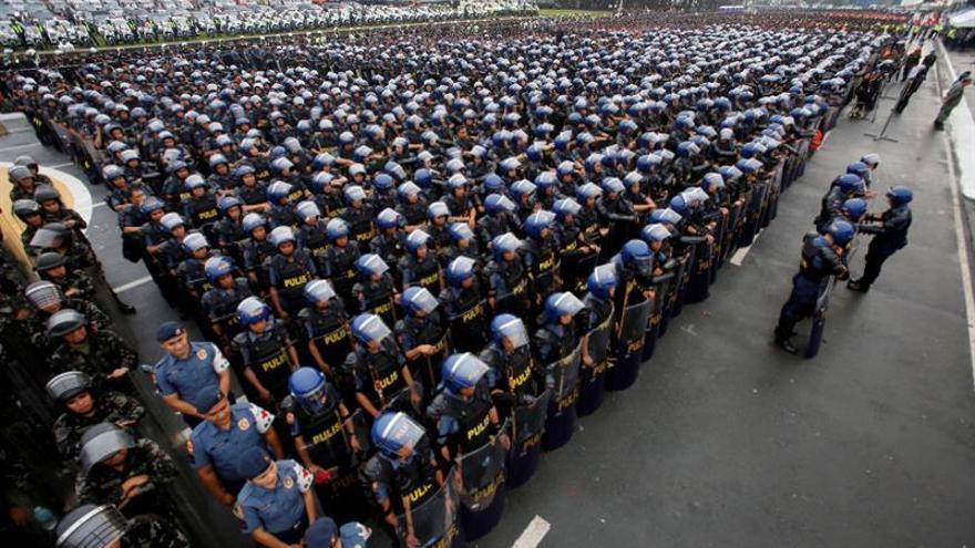 Unos 60.000 policías y soldados velarán por seguridad de la cumbre de ASEAN
