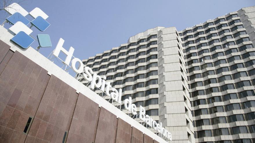 Sede del Hospital de Barcelona. FOTO: FUNDACIÓN ESPRIU