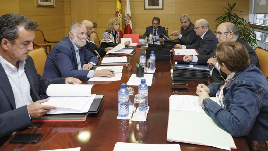 Reunión del Consejo de Gobierno de Cantabria. | RAÚL LUCIO