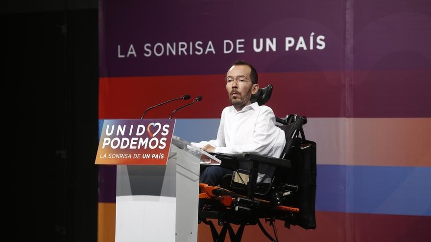 Podemos no hace autocrítica porque no sabe qué ha pasado y avisa de que no apoyarán un pacto de PSOE y C's