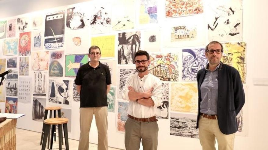 Gipuzkoa homenajea con una exposición en el Koldo Mitxelena y Gordailua al artista Don Herbert