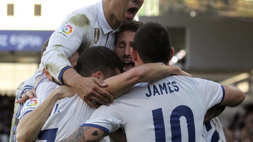 El Real Madrid superó la prueba de Ipurua.