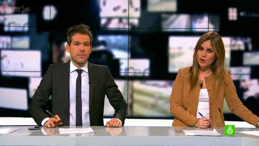 El presentador Javi Gómez se despide emocionado en directo de laSexta: 'Dejo la TV'