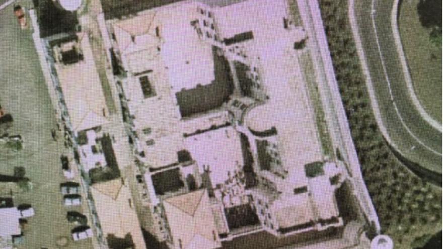 Fotografía aérea de la Prisión Provincial (1961).