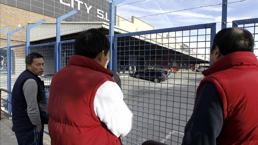 Operación en Madrid contra una organización china con 30 detenidos y 60 registros