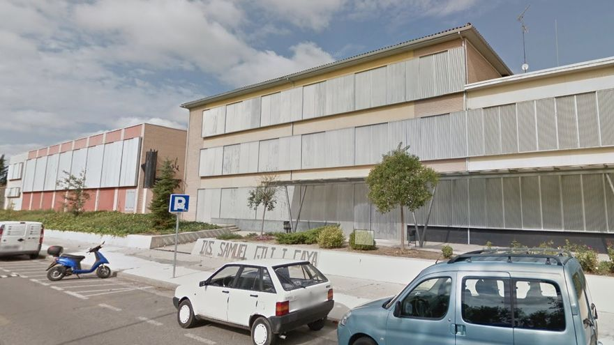 Fachada del instituto Gili i Gaya de Lleida