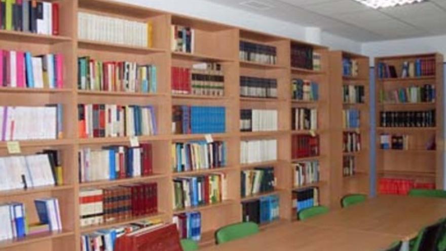 Biblioteca en la sede del Colegio de Abogados de Guadalajara
