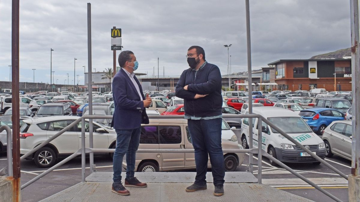 Juanjo Cabrera y Juan José Neris.