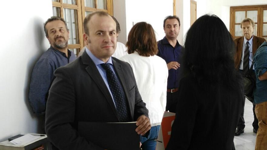 Julio Díaz, presidente de la comisión de investigación.