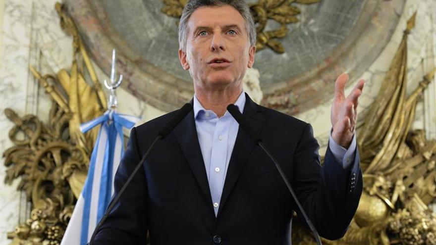 Macri reitera su apuesta por la inversión y la confianza para crear empleo
