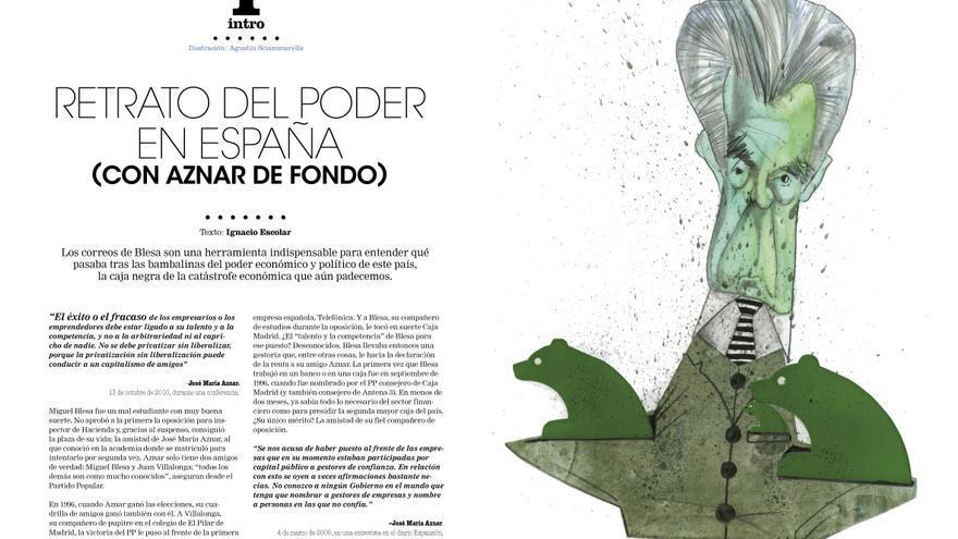 Análisis de Ignacio Escolar en el número 4 de la revista Cuadernos de eldiario.es.
