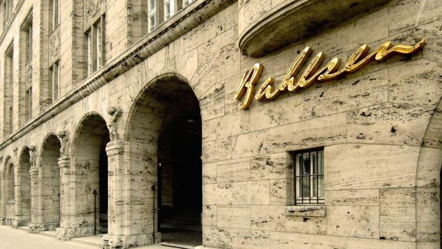 Sede de la compañía de galletas Bahlsen al que se le ha descubierto su pasado de colaboración nazi.
