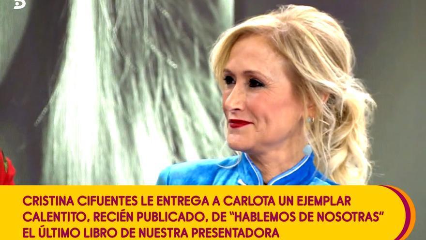 Cristina Cifuentes en 'Sálvame'