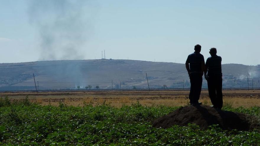 Las minas antipersona explotan el éxodo por el Estado Islámico  / foto (archivo): Lluís Miquel Hurtado