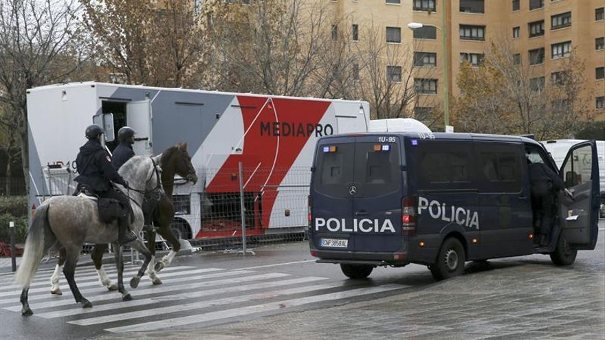 Más de 200 efectivos velarán por la seguridad en el partido Leganés-Getafe