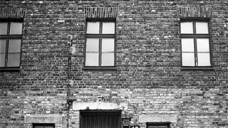Bloque 10 del campo de concentración de Auschwitz, donde se realizaron los experimentos médicos con prisioneros.