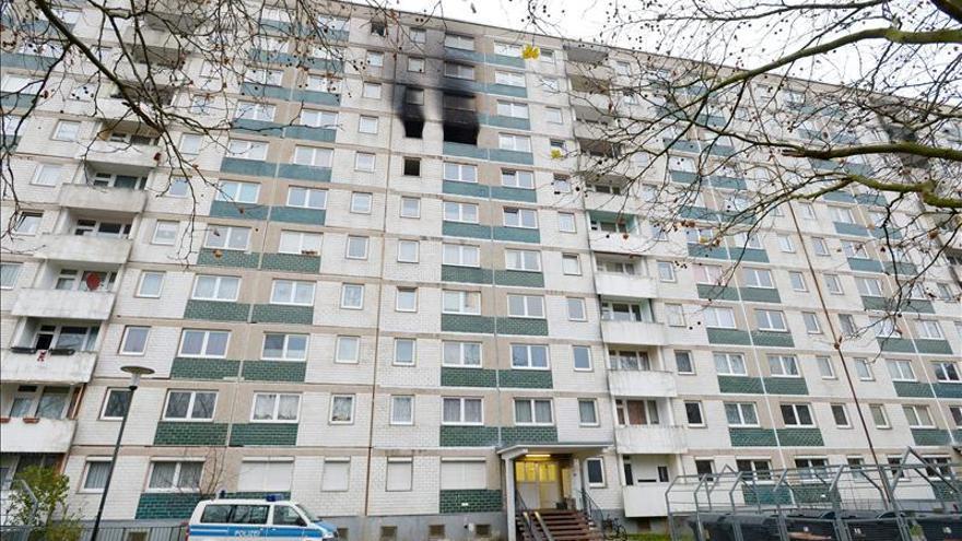 Mueren tres personas en un incendio en bloque de viviendas de Halle (Alemania)