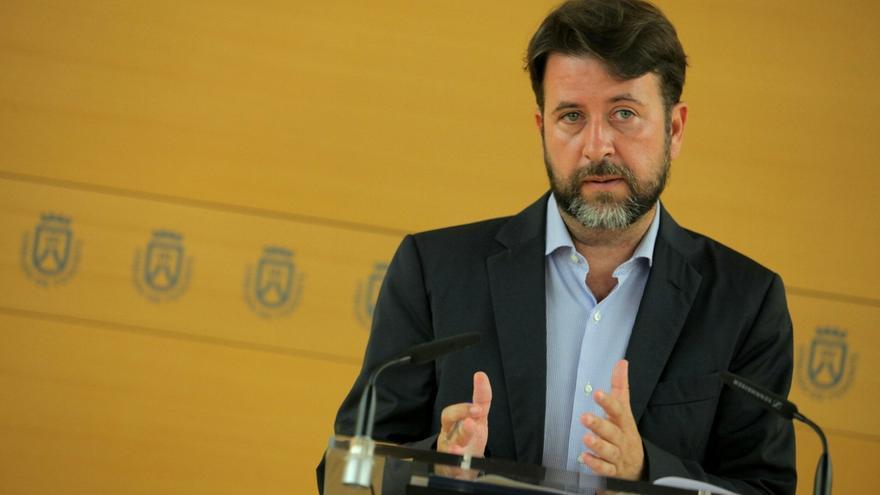 Carlos Alonso, presidente del Cabildo de Tenerife / Foto cedida