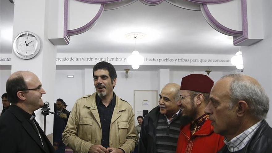 Obispo Munilla y musulmanes coinciden en que terrorismo no es religión