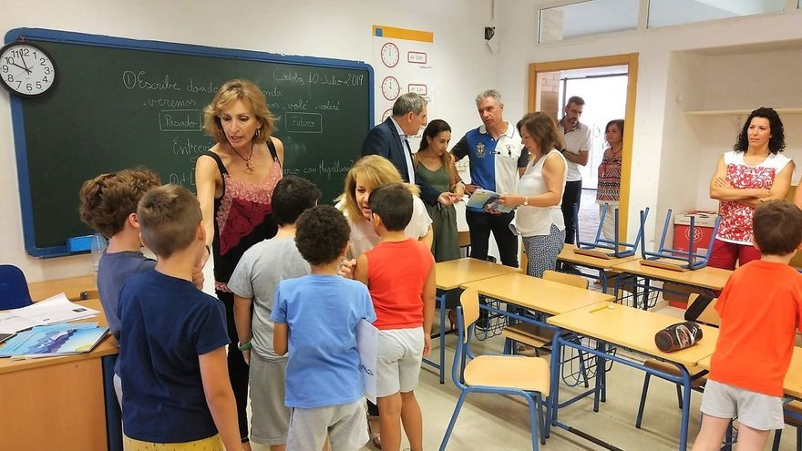 La Junta evaluará si el colegio de Nueva Carteya y otros pueden añadir unidades educativas