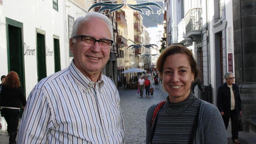 Nicolás Hernández Gómez y Marta Poggio.