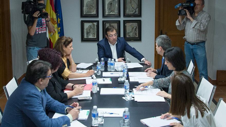 Reunión este martes de la Junta de Extremadura