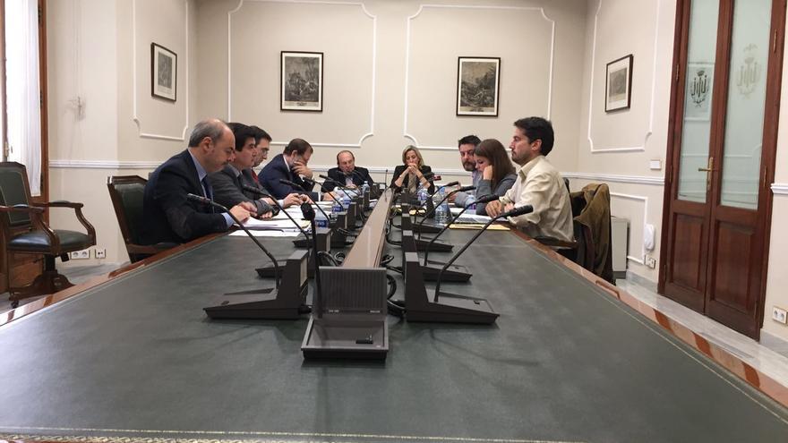 Reunión de la Comisión de Investigación del caso Taula en el Ayuntamiento de Valencia.